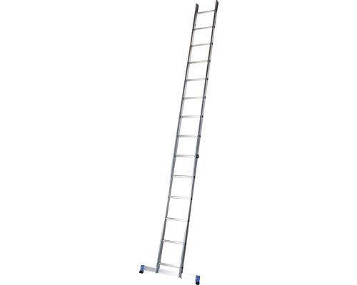 WERNER Anlegeleiter 14 Sprossen Aluminium Länge 3,95 m