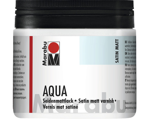Marabu Aqua-Seidenmattlack 500 ml