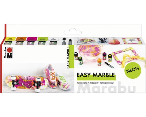 Marabu Easy Marble Set neon