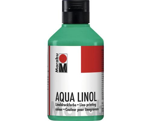 Marabu Aqua-Linoldruckfarbe weiß 070 250 ml