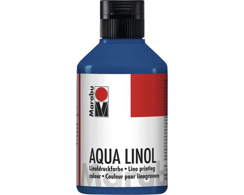 Marabu Aqua-Linoldruckfarbe preußischblau 093 250ml