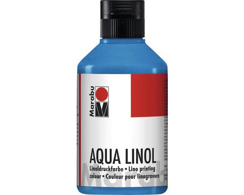 Marabu Aqua-Linoldruckfarbe mittelblau 052 250ml