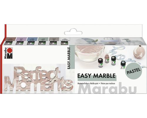 Marabu easy Marble Set pastel 6x 15 ml