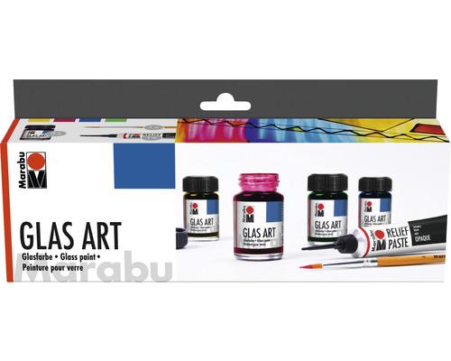 Marabu Glas Art Starter-Set 4x 15 ml