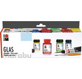 Marabu Glas Starter-Set 4x 15 ml