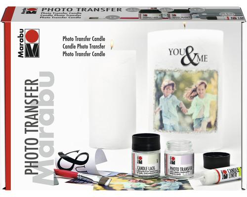 Marabu Photo Transfer Candle Set