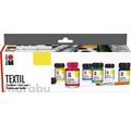Marabu Textil Starter-Set 6x 15 ml