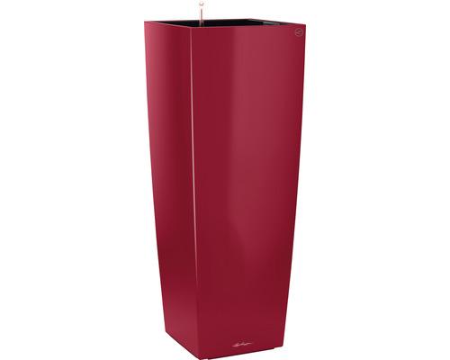 Pflanzvase Lechuza Cubico Alto 40 Komplettset H 105 cm rot