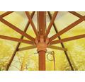 Schneider Sonnenschirm Gartenschirm Malaga Forest Ø 300 cm rund hellgrün