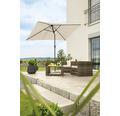Schneider Sonnenschirm Gartenschirm Bilbao 210 x 130 cm rechteckig natur