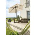 Schneider Sonnenschirm Gartenschirm Sevilla Ø 270 cm rund natur