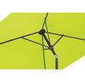 Schneider Sonnenschirm Gartenschirm Bilbao 210 x 130 cn rechteckig apfelgrün