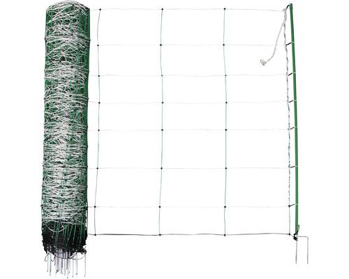 Schafnetz TopLine Plus Net Doppelspitze 50 m x 90 cm grün