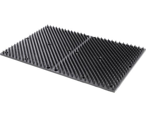 Kratzmatte 60 x 40 cm schwarz