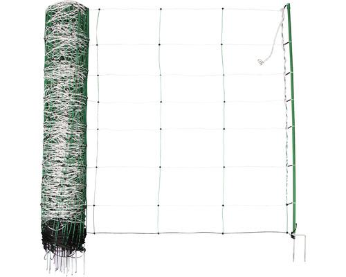 Schafnetz TopLine Plus Net Doppelspitze 50 m x 108 cm grün