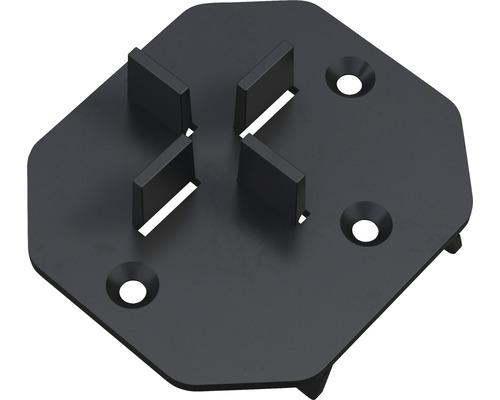Terrassenlager Befestigungsaufsatz M-Fix i Set = 30 Stück inkl. Pad und Bohrschrauben für UK Isostep