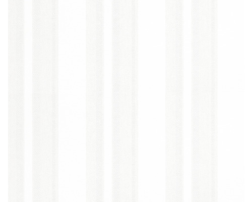 Vliestapete 5729 Patent Decor Green Label Streifen weiß