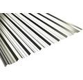 PRECIT Trapezplatte T18DR grey white RAL 9002 mit Antikondensationsbeschichtung 3200 x 1138 x 0,5 mm