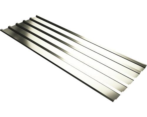 PRECIT Trapezplatte T35M grey white RAL 9002 mit Antikondensationsbeschichtung 6500 x 1095 x 0,63 mm