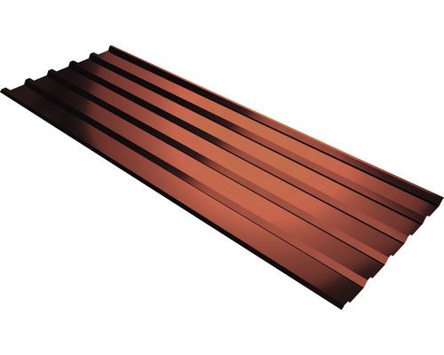 PRECIT Trapezplatte T35M kirschrot mit Antikondensationsbeschichtung 1800 x 1095 x 0,5 mm