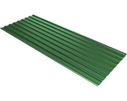 PRECIT Trapezplatte T18DR moos green RAL 6005 mit Antikondensationsbeschichtung 2500 x 1138 x 0,5 mm
