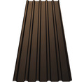 PRECIT Trapezplatte T35M chocolate brown RAL 8017 6500 x 1095 x 0,75 mm