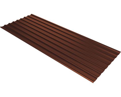 PRECIT Trapezplatte T18DR red brown RAL 8012 3100 x 1138 x 0,5 mm