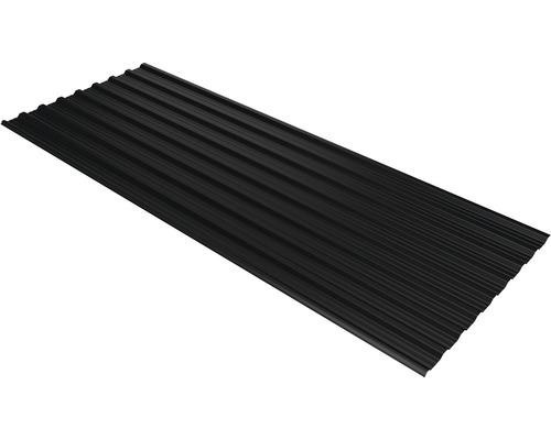 PRECIT Trapezplatte T18DR jet black RAL 9005 3600 x 1138 x 0,5 mm
