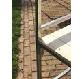 Marktstand VEBA Professional 1,44 m² 215 x 70 cm rot weiß