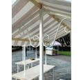 Marktstand VEBA France 1,64 m² 205 x 80 cm rot weiß