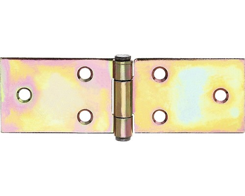 Tischband breit, 32 x 101 mm, Galv. gelb verzinkt