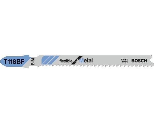 Stichsägeblatt Bosch T 118 BF 3er Pack