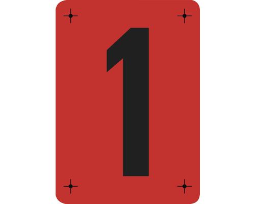 Malerschablone Ziffer 1 - 14,5 x 20,5 cm