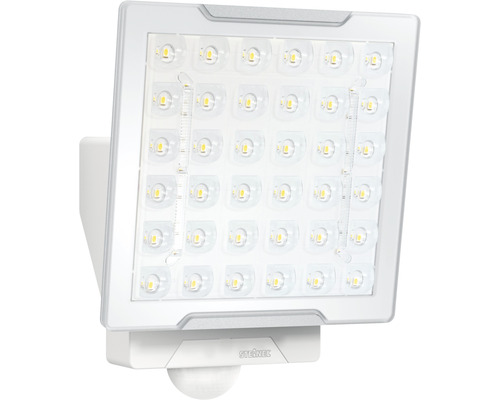 Steinel LED Sensor Strahler 24,8W 2400 lm 4000 K neutralweiß HxBxT 230x178x130 mm XLED PRO Square weiß