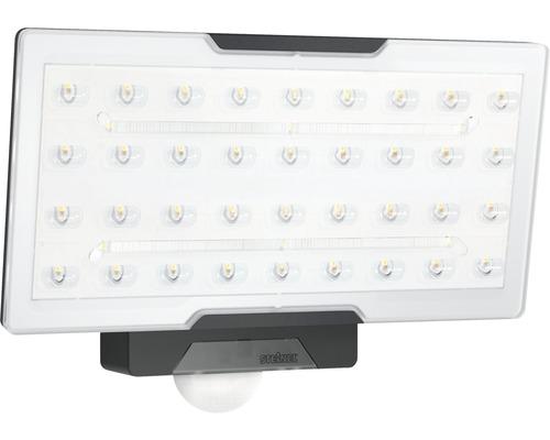 Steinel LED Sensor Strahler 24,8W 2400 lm 4000 K neutralweiß HxBxT 230x178x130 mm XLED PRO Wide schwarz
