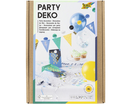 Party-Deko Girls 41 Teile