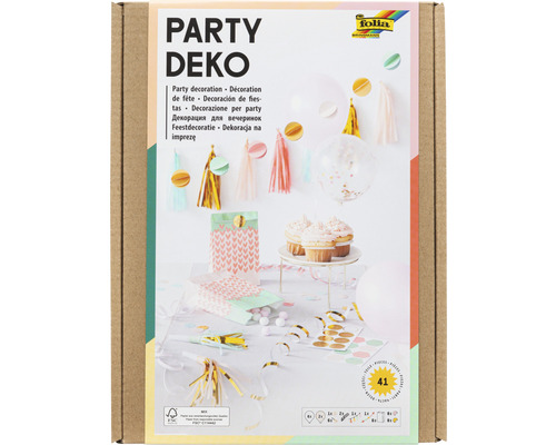 Party-Deko Boys 41 Teile