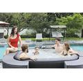 Aufblasbarer Whirlpool VITO 185x185x68cm inkl. Heizung, Filterpumpe und Whirlpoolgebläse Plug & Play