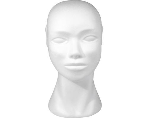 Styropor-Kopf, weiblich, 29 cm