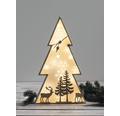 Holz Rahmen Set Weihnachtsbaum