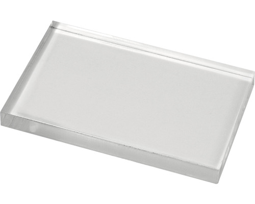Acrylblock für Silikon-und Gummistempel