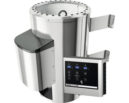 Bio-Saunaofen Karibu 3,6 kW mit ext. Steuerung Modern