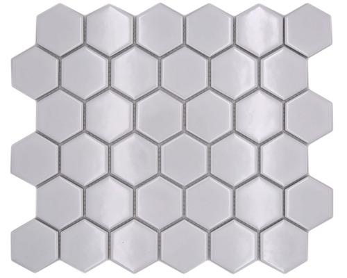 Keramikmosaik HX 080 weiß 32,5x28,1 cm