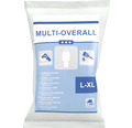 Einweg-Schutzanzug mit Kapuze weiß Größe L-XL 60 g