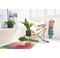 Blumentopf Lechuza Cube Color Kunststoff 16x16x16 cm grau inkl. Erdbewässerungssystem und Pflanzeinsatz