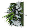 Pflanzenbild Dschungeldesign 35x35 cm