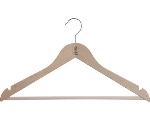 Kleiderbügel aus Holz Buche roh geschliffen