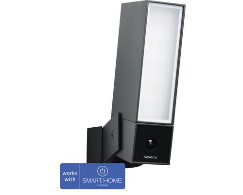Netatmo Außenkamera + integriertem Flutlicht WLAN Nachtsicht Bewegungserkennung inkl. MicroSD-Karte ohne Abonnement - Kompatibel mit SMART HOME by hornbach