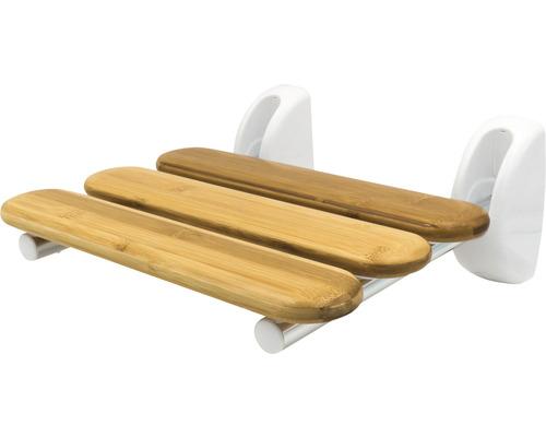 Dusch-Klappsitz RIDDER Pro mit Bambussitzfläche