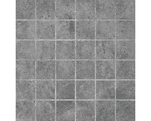 Feinsteinzeugmosaik Baltimor anthrazit 30 x 30 cm